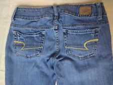 American Eagle Artist Stretch Denim Jeans Pants Distressed 00 Regular 26x29