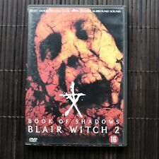 BLAIR WITCH 2 - BOOK OF SHADOWS  - DVD