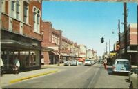Biloxi, MS 1950s Chrome Postcard: Howard Avenue D owntown - Mississippi