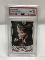 2004-05 Topps LeBron James #23 Cleveland Cavaliers (2nd Year) PSA 10 Gem Mint