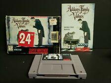 Addams Family Values (Super Nintendo) SNES Complete Boxed CIB