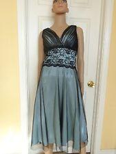 COLDWATER CREEK black lace party dress size 6