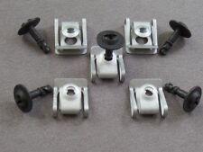 10 Teile Motorschutz Unterfarschutz Unterboden Einbausatz Audi A4 A5 A6 A7 Q3 Q5