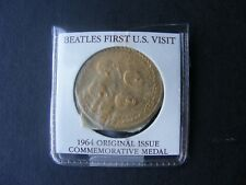 (1) 1964 Beatles USA first visit official Medallion Mint Sealed Uncirculated