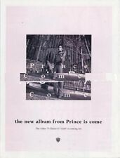 Prince LP advert VOX Cutting