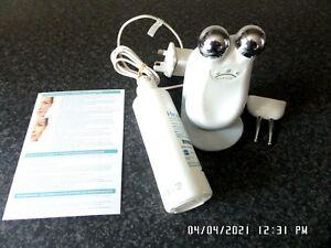 NuFACE Trinity + Trinity ELE Attachment Set White (Worth £457) UK Charger