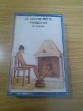 Tape nastro cassetta Le Avventure Di Pinocchio Collodi Theo Favero Favola Teatro
