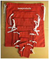 Christmas / Party Favor / Art and Craft  Red Cloth Bags ,Sacks Wholesale Prices