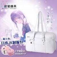 Japanese Harajuku White Lolita Sweet Shoulder Bag School Bag JK Uniform Handbag