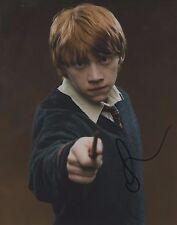 Rupert Grint Harry Potter Actor Hand Signed 8x10 Autographed Photo COA Proof
