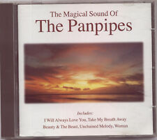 THE MAGICAL SOUND OF THE PANPIPES  – UK CD (1995) 18 TRACKS / 68 MINS+