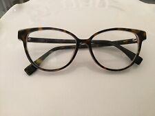 Fendi Cat Eye Oval Eyeglasses FF0339F 086 Tortoise And Pink 53mm 50 140