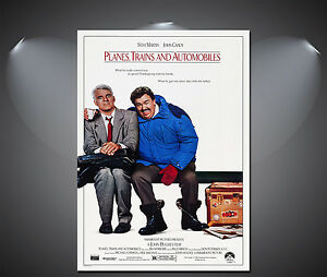 Planes, Trains and Automobiles Vintage Movie Poster - A1, A2, A3, A4 available