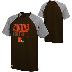 New Era NFL Men's Cleveland Browns Ball Hog Short Sleeve Performance T-Shirt