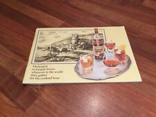 Vintage Asbach Uralt Brandy Cocktail Recipe Booklet Recipes By Famous Bartenders