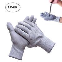 1 Paire Anti Coupure Gants de travail mécanicien montage protection mains