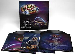 JEFF LYNNE'S ELO LP x 3 Wembley Or Bust 180 Gram Triple Vinyl + Downloads LIVE
