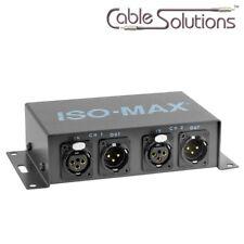 Jensen Transformers PI-2XX Stereo Audio Ground Isolator Hum/Noise Eliminator GSP