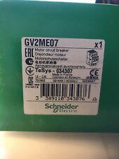 GV2ME07. SQURE. D MOTOR. STARTER. GV2ME07
