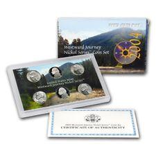 2004 Proof & BU P/D/S 6-Coin Westward Journey Nickel Series US Mint Set OGP/COA