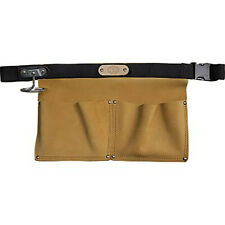 NEW CONNELL OF SHEFFIELD UK MADE - TWO POCKET SUEDE APRON - CNA1E - C-1604-TAN