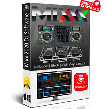 Pro DJ Mixing Software + Music Production Studio Audio Editing Recording PC CD.