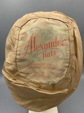 Vintage Twentieth Century Ladies Hat Liner Alexander Hats California