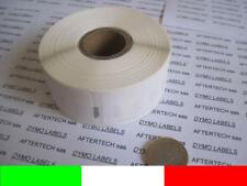 50x 11355 ROTOLI ETICHETTE COMPATIBILI DYMO LABELWRITER 400 450 19x51mm