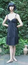 Kleid Moschino CheapandChic Gr. 34 Gr. 36 schwarz außergewöhnlich  Zierstich