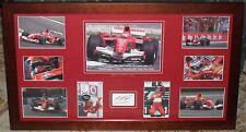 MICHAEL SCHUMACHER Formula 1 L/E signed Tribute