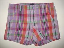NWT Baby Gap Woodstock Purple Plaid Shorts 4 4T LR