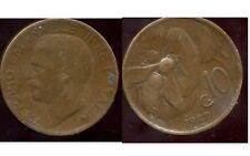 ITALY  ITALIE  10 centesimi  1922    ( aus )