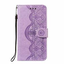 Handyhülle für Xiaomi Redmi Note 10 Pro Schutztasche Cover Bumper Wallet Violett