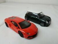 TOY CARS JOB LOT BUNDLE BURAGO MINI COOPER LAMBORGHINI 1:43 SCALE MODEL