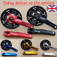 UK 3X10 Speed CNC MTB Bike Chainset BB 170 Crank 104/64bcd Chainring Sprocket