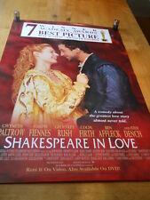 Shakespeare In Love - Video Poster