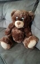 "Curto Toy 11"" Brown Bear Stuffed Plush so soft excellent condition"