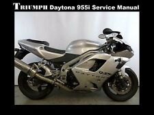 TRIUMPH DAYTONA 955i SPEED TRIPLE WORKSHOP SERVICE MANUAL for 955 Motorcycles