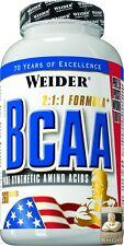 Weider BCAA Tablets Dose 260 Tabletten = 416 g (76,90EUR/1000 g)