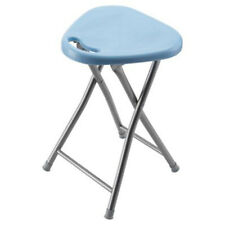 *SALE*  Actona Folding Stool, with High gloss plastic seat and steel frame