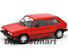 WELLY 18039 1983 VW VOLKSWAGEN GOLF 1 GTI 1:18 DIECAST MODEL CAR RED