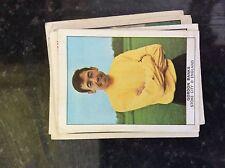 m17c4 trade card 1960s nabisco football no 4 gordon banks