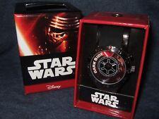 NIB Mens Star Wars The Dark Side Galactic Empire Imperial Wrist Watch Disney