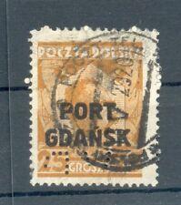 Danzig Port Gdansk Perfin Firmenlochung (G9158