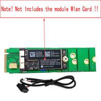 BT Wifi Card Module To Desktop NGFF M.2 M Key For BCM94360 BCM94331 943224PCIEBT
