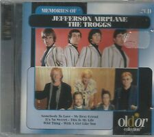 JEFFERSON AIRPLANE  /  THE TROGGS.  -  MEMORIES OF...   /    2 CD SET.   IMPORT.