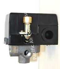 Air Compressor Pressure Control Switch 120 230 Volt 95 125 Psi Adjustable 4 Port
