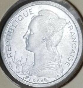 Reunion 1 Franc 1964 Unc