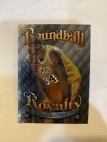 1998-99 Topps Roundball Royalty #R9 Shaquille O'Neal Lakers