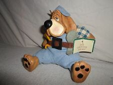 New ! Little Critter Factory Country Folk *Dog* Figurine Kathleen Kelly Handyman